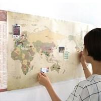 데코 트래블 월드맵 Ver.2 [꾸미는 세계 지도]