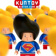 kuntoy figure-MAN OF STEEL 맨오브스틸 한정판 (블랙)