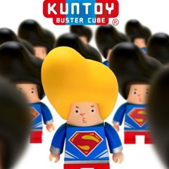 kuntoy figure-MAN OF STEEL 맨오브스틸 (옐로우)