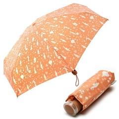 [VOGUE] 보그 5단 수동 우산(양산겸용) - 칸타빌레 (오렌지)
