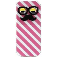 큐리아 쿄로눈 철제필통-핑크줄무늬(734935)