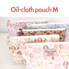Oil-cloth pouch M