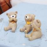 귀요미 3종 세트 버젼 앉아있는 동물친구들(3개 한세트 상품)