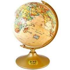 세계로/브라운지구본 220-CBR(지름:22cm/브라운)지구의/어린이날선물