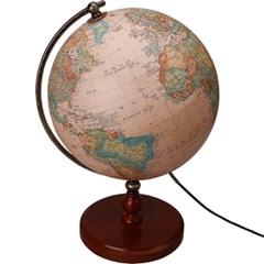 세계로/조명지구본 304-WBRL(지름:30.4cm/브라운/조명/스위치)어린이