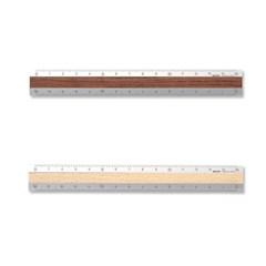 Aluminium & Wood Ruler