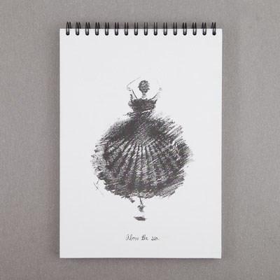 바다위에서-스케치북