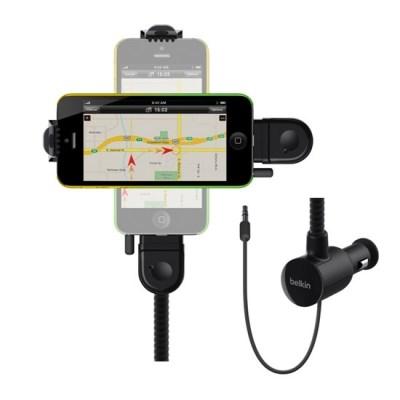 [벨킨] 아이폰5 튠베이스 핸즈프리 차량용 충전 거치대 (F8J037bt)