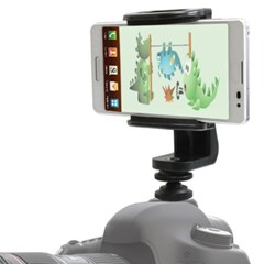본젠 VCM-5136T 카메라 핫슈 스마트폰 마운트 (DSLR 미러리스 등)