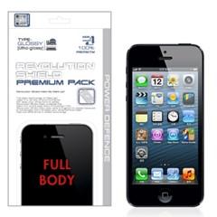 아이폰5/iPhone5 레볼루션HD 올레포빅 투명유광 액정보호필름
