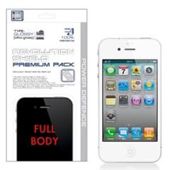 아이폰4 iPhone4 레볼루션쉴드 프리미엄팩 전신보호필름