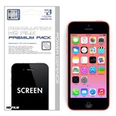 아이폰5c 레볼루션HD 올레포빅 투명유광 액정보호필름