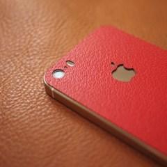 아이폰5s (iPhone5s) 가죽 스킨 / 필름