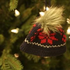 니트 뜨개 모자