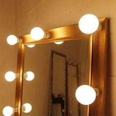 룩소골드조명거울