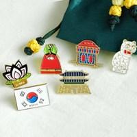 미라클코리아 한국의 상징 뱃지