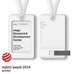 [엘라고] ID1 사원증 카드홀더 / USB 메모리별도 [5 color]