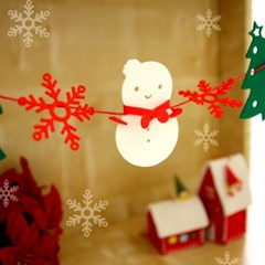 크리스마스미니가랜드 -눈사람