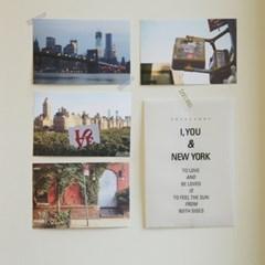 I , You & New York Post card set