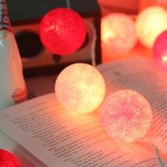 2013 반짝반짝 빛나는 전구볼 -pink
