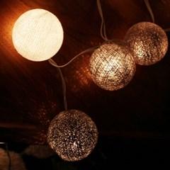 2013 반짝반짝 빛나는 전구볼 -gray