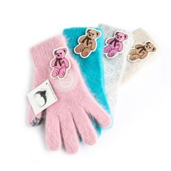 [Smart Phone]Softy Co Angora Gloves