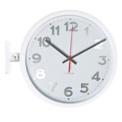 숫자 알루미늄 양면시계