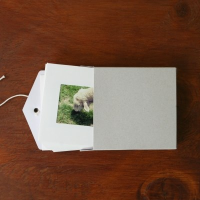 MINI PHOTO FRAME_WHITE