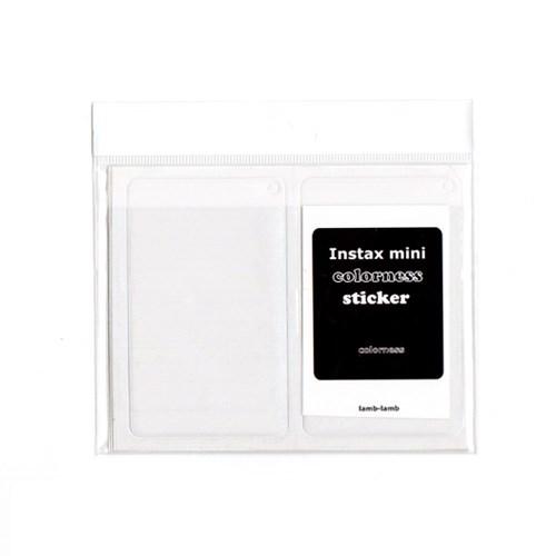 Polaroid mini sticker-colorness(6pcs)