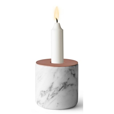 Chunk Marble Candleholder - Large