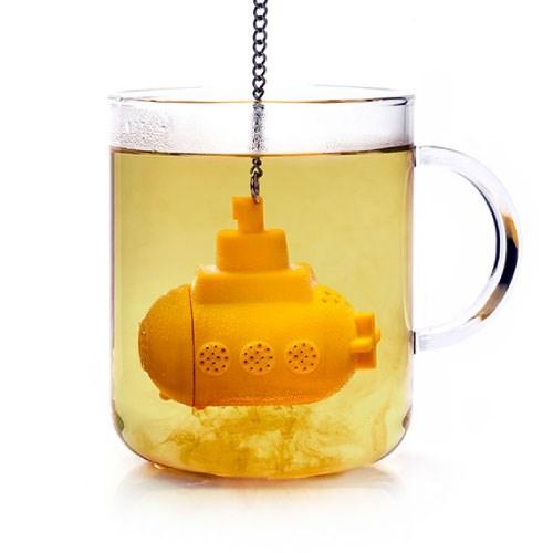 Tea Sub 노란잠수함 실리콘 티 인퓨저