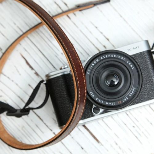 씨에스타 가죽 카메라스트랩 CSS-L15 - 지아노브라운