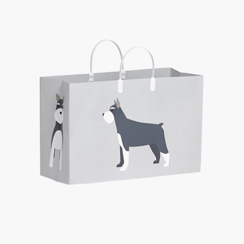 PLUSBOX PAPER BAG (Schnauzer)