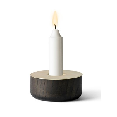Chunk Wood Candleholder - Small
