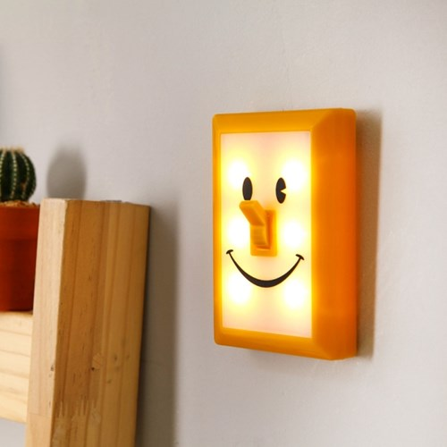 [SPICE] SMILES SWITCH LED LIGHT - YELLOW