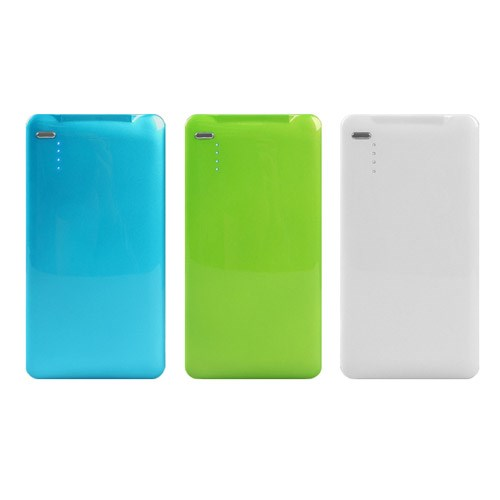 USB 스마트폰 보조배터리 캠핑 여행 충전기 슬림형 3500_(600760283)