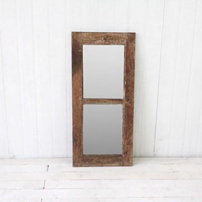 오리지널 빈티지 티크 거울