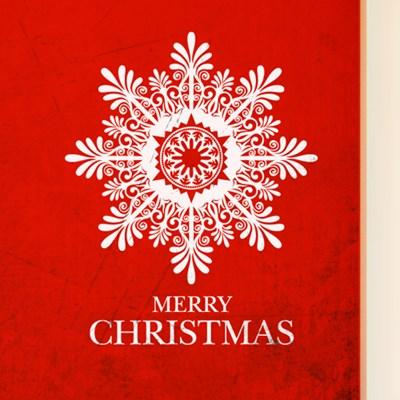 크리스마스 큰눈꽃 / 그래픽스티커