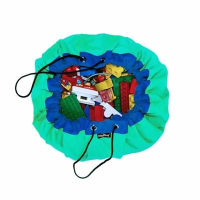 [PlayRing®] 플링백ver.2 ★라이트그린★ 놀이매트&정리가방 면100%