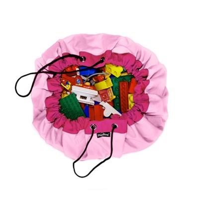 [PlayRing®] 플링백ver.2 ★파스텔핑크★ 놀이매트&정리가방 면100%