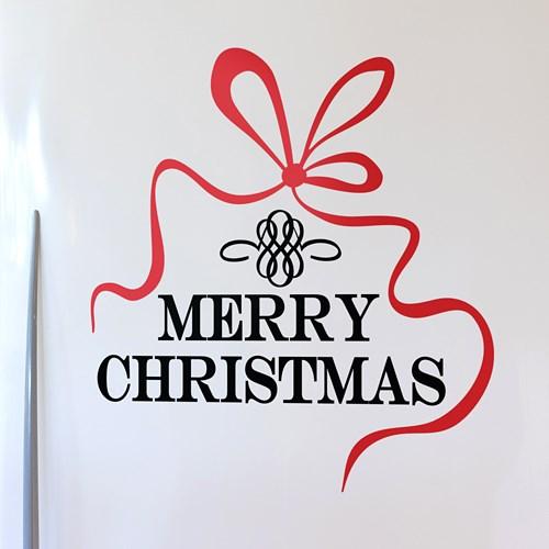 크리스마스 리본 / 그래픽스티커