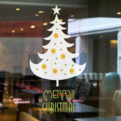 크리스마스 심플트리 05 (나무) / 그래픽스티커