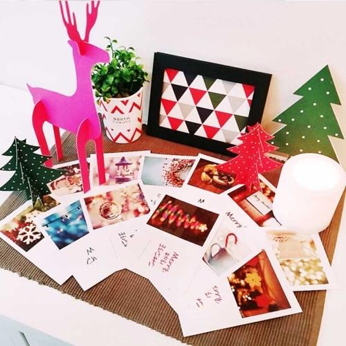 북유럽 크리스마스 엽서 12종세트