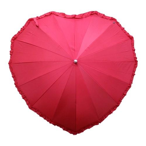 빨간하트 우산