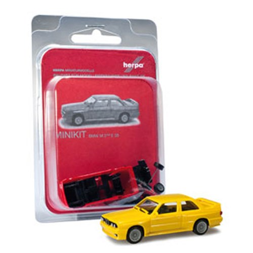 [미니키트]1/87 BMW M3(E30) (HE341356YE) 조립식