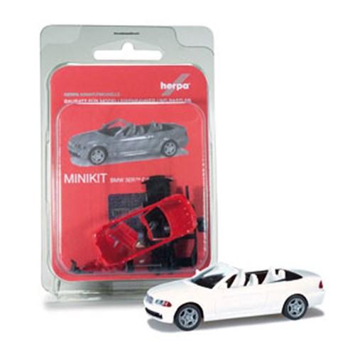 [미니키트]1/87 BMW 3er(E46) M-Cabrio (HE343152WH) 조립식