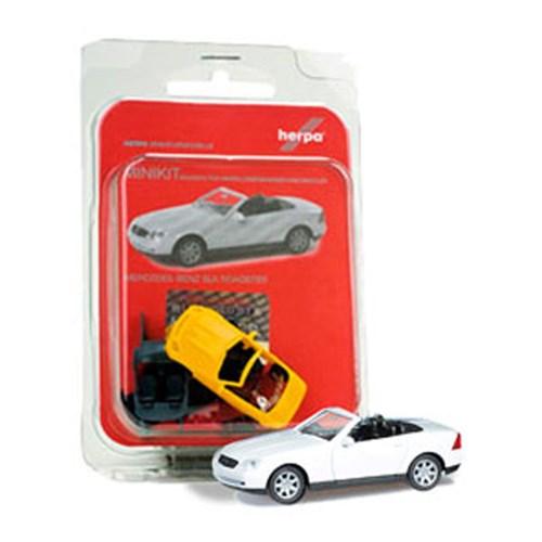 [미니키트]1/87 Mercedes-Benz SLK Roadster (HE343763WH) 조립식