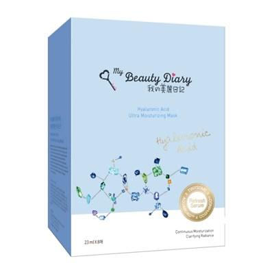 [마이뷰티다이어리] 히알루론산 모이스춰라이징 마스크팩 8pcs