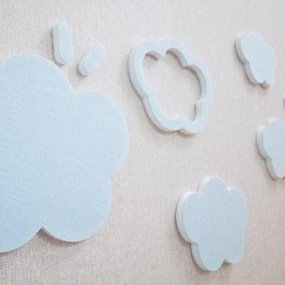 [3D입체] 뭉게구름set