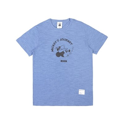 MICKEY SLUB TEES (BLUE)